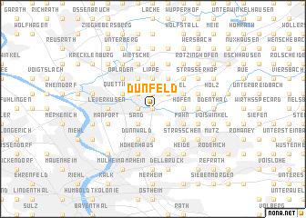 map of Dünfeld