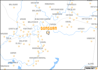 map of Dunguan