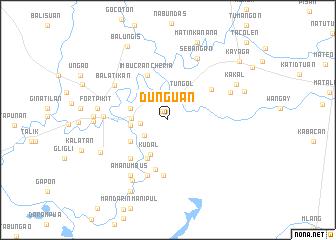 map of Dunguan