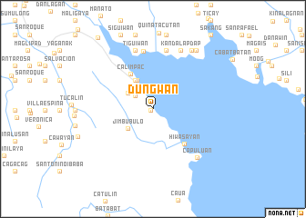 map of Dungwan