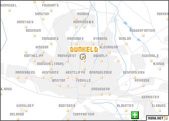 map of Dunkeld