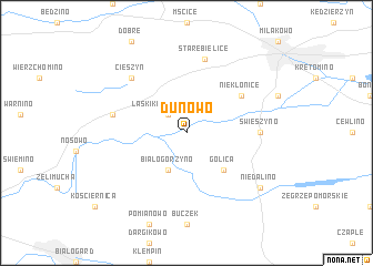 map of Dunowo