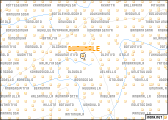 map of Dunumale