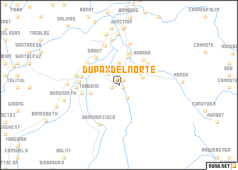 map of Dupax del Norte