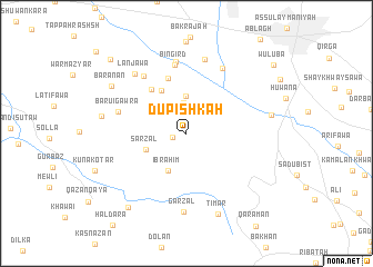 map of Dūpishkah