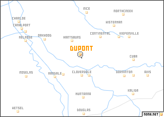 map of Dupont
