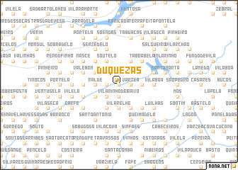 map of Duquezas