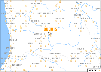 map of Duquis