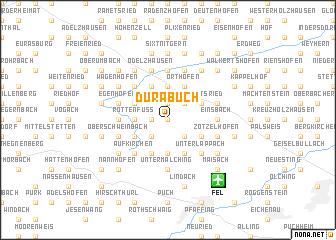 map of Dürabuch