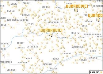 map of Durakovići