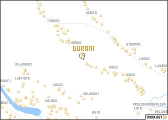 map of Ðurani