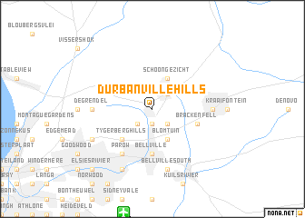 Durbanville Hills (South Africa) map   nona.net