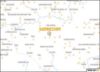 map of Dūrbozkān