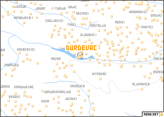 map of Ðurđevac