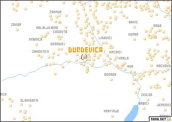 map of Ðurđevica