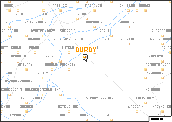 map of Durdy