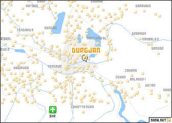 map of Durgjan