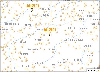 map of Ðurići