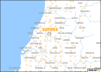 map of Duripes