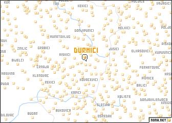 map of Durmići