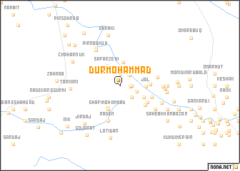 map of Dūr Moḩammad