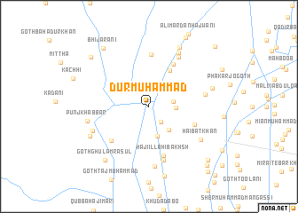 map of Dur Muhammad