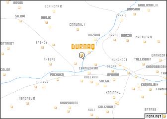 map of Dūrnāq