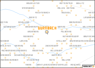 map of Dürnbach