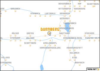 map of Dürnberg
