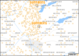map of Dürnberg