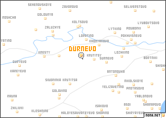 map of Durnëvo