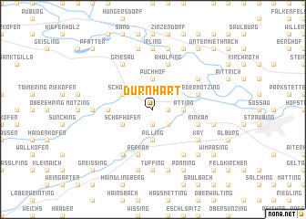 map of Dürnhart