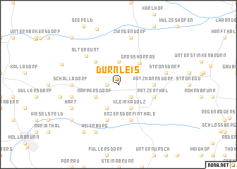 map of Dürnleis
