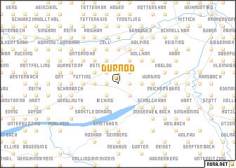 map of Dürnöd