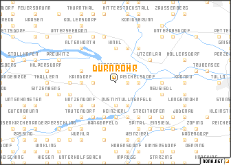 map of Dürnrohr