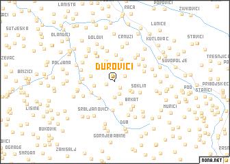 map of Ðurovići