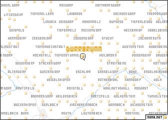 map of Dürrbrunn