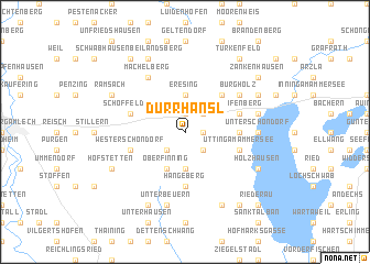 map of Dürrhansl