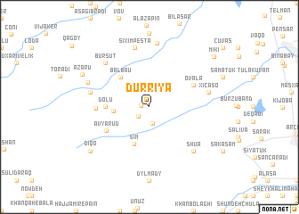 map of Dürriyǝ