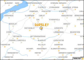 map of Dursley