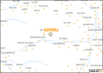 map of Dushaj