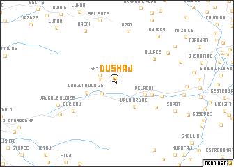 map of Dushaj