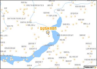 map of Dushman