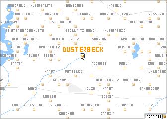 map of Düsterbeck
