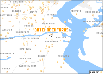 map of Dutch Neck Farms