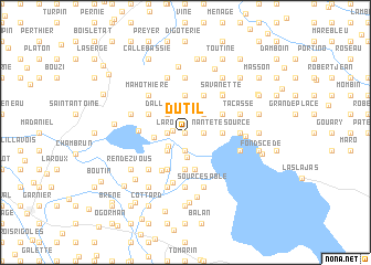 map of Dutil