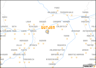 map of Dutjen