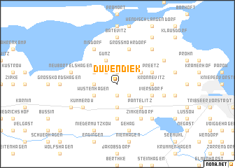 map of Duvendiek