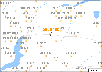 map of Duvered