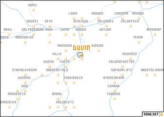 map of Duvin